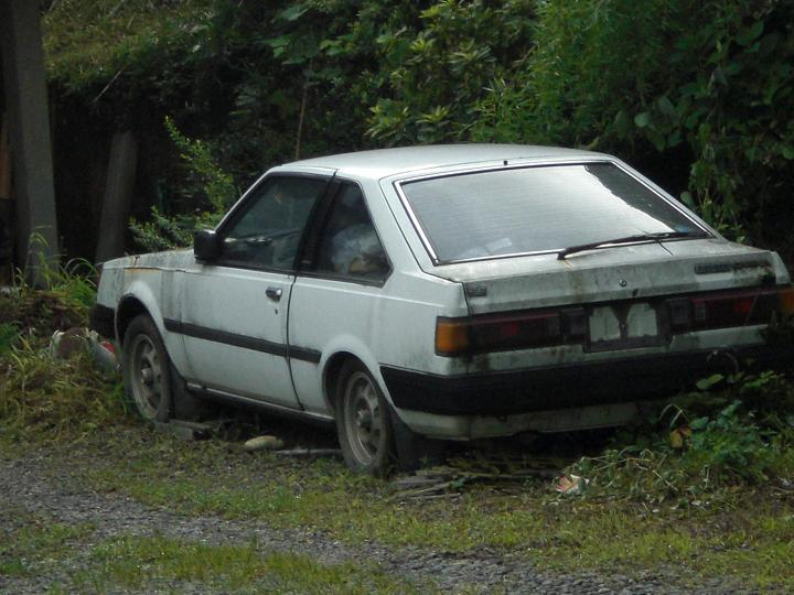 Carina SG AA60 coupe rustoseum