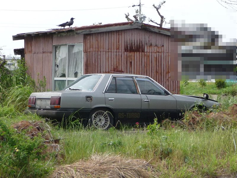 Nissan Skyline DR30 rustoseum