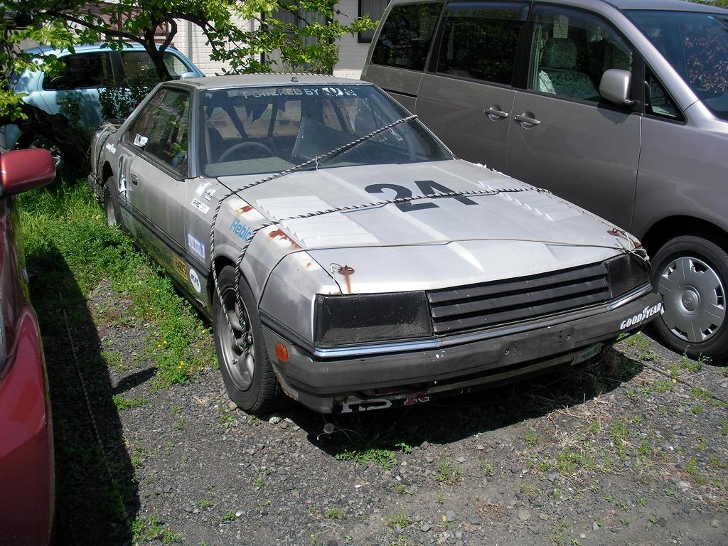 Nissan Skyline R30 drag racer rustoseum
