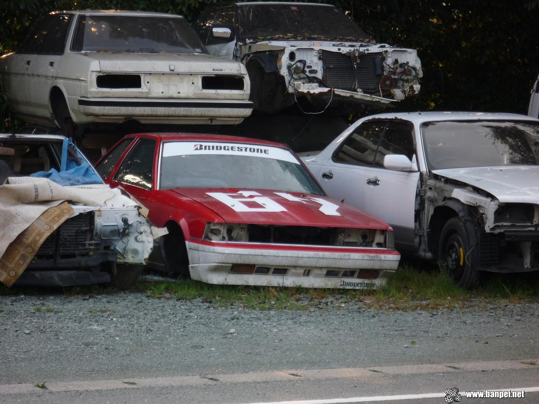 Rusty Toyota Soarer Z10