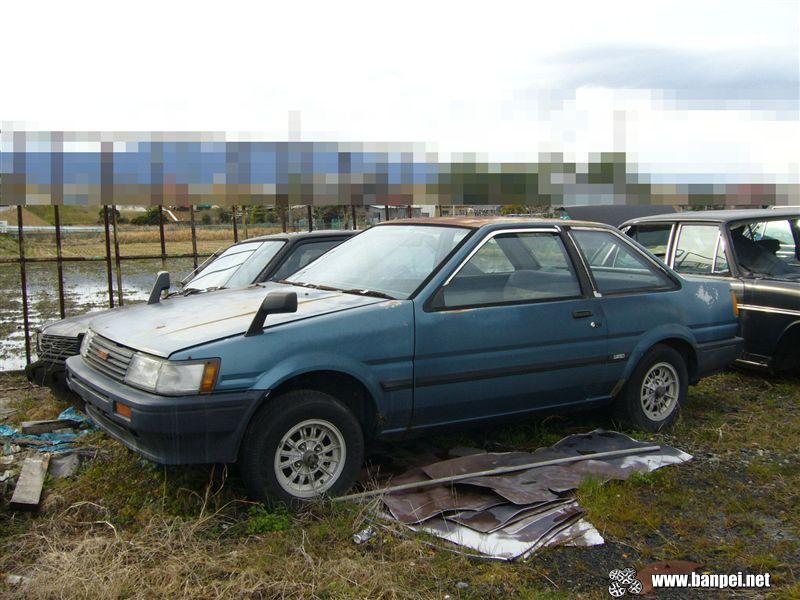 Rusty Toyota Corolla Levin AE85