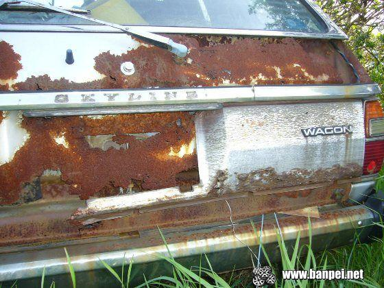 Rustoseum: Nissan Skyline C210 Wagon