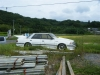 Abandoned Toyota Crown MS125 kaido racer
