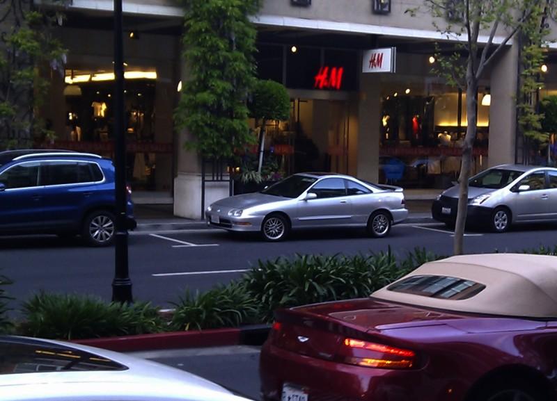 SF Bay area: everybody drives an Integra