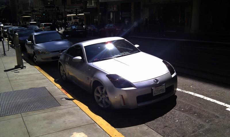 SF Bay area: everybody drives a 350Z