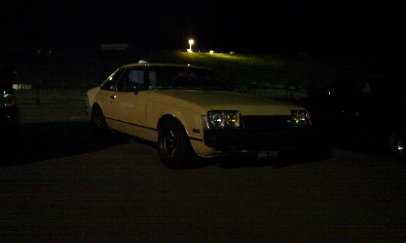 Celica GT RA42 on RS Watanabe rims