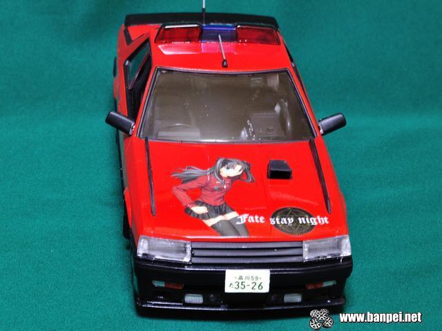 Rin Tohsaka Seibu Keistatsu Machine RS-3 itasha diecast