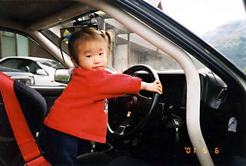 Little hachi daughter
