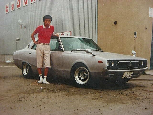 Skyline GC110 on Hayashi Streets and white sports socks