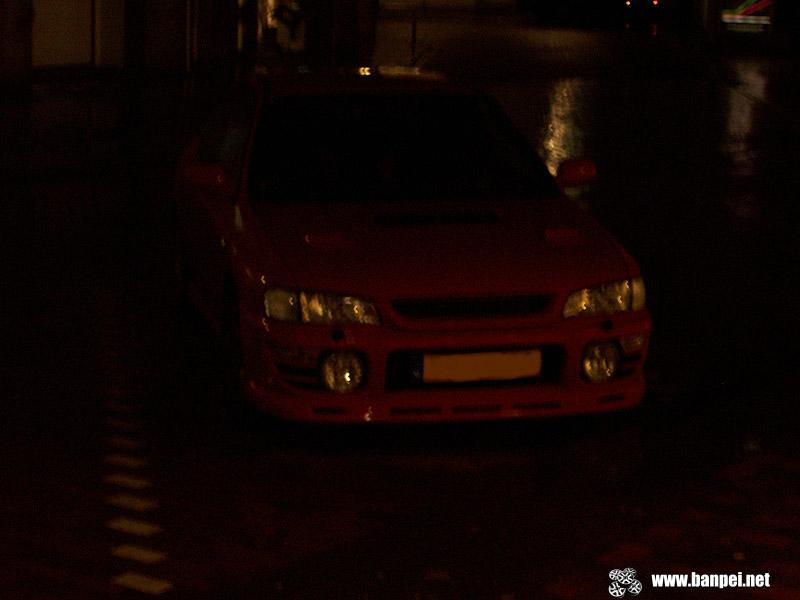 Down on the Street: disabled Subaru Impreza