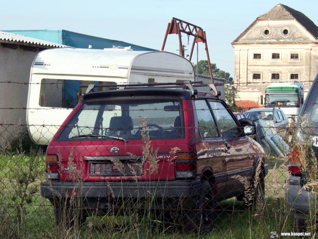 3 door Subaru Justy J12 4WD SLII