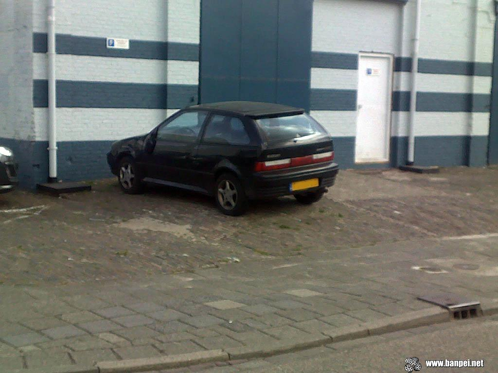 Black 1993 Suzuki Swift GTi