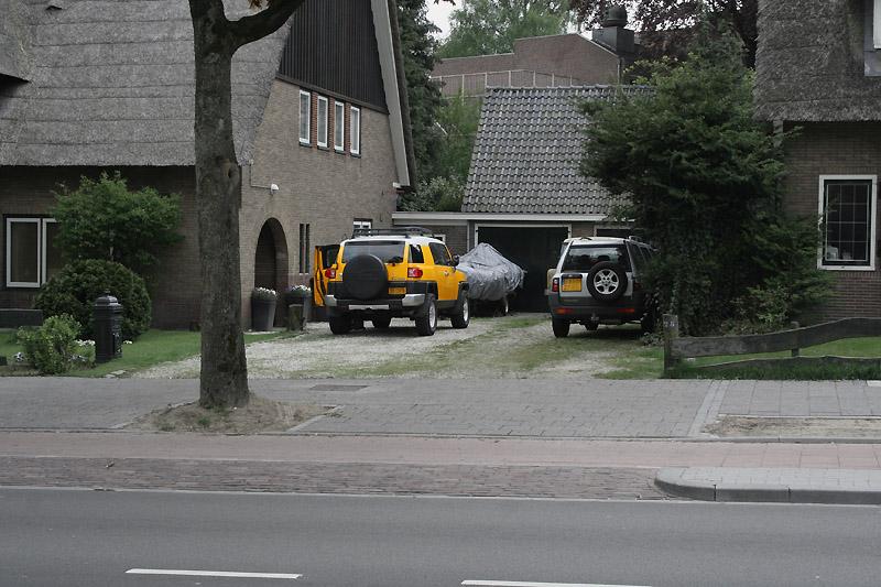 Yellow 2008 Toyota FJ Cruiser