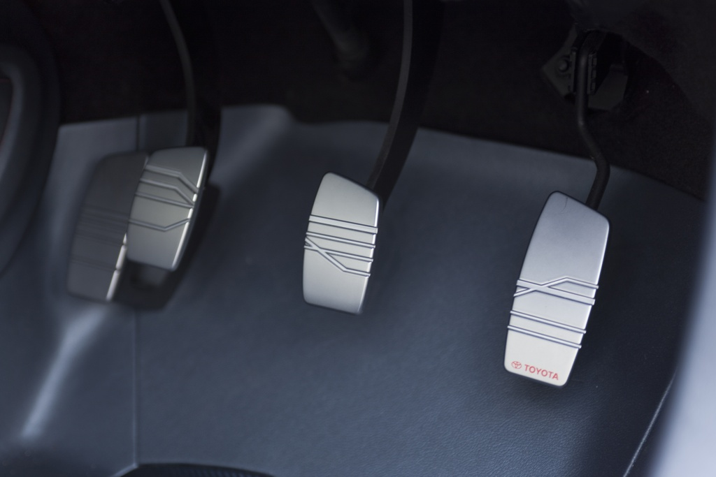 Toyota FT-86 concept extra pedal?