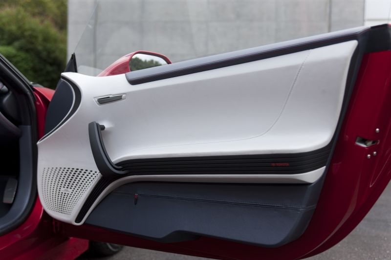 Toyota FT-86 concept door card design