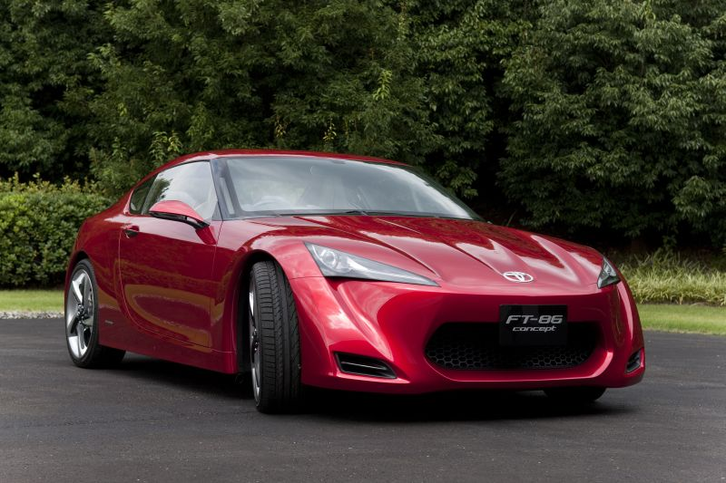 Tokyo Motor Salon debut of the Toyota FT-86 concept