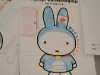 Miffy colouring page