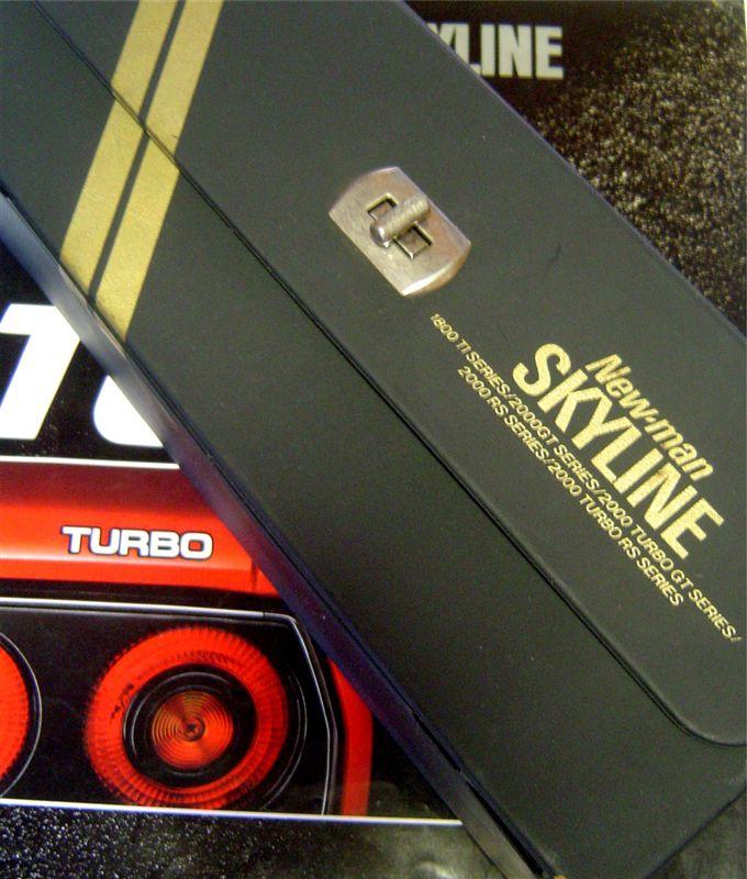 Nissan Skyline Paul Newman cassettes