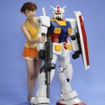 Which mobile suit from Gundam is the new Skyline GT-R?