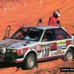 Carina A6 entering the Paris-Dakar in 1982 and 1983