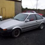 Sad day: My old Trueno is really dead now