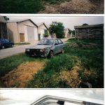 Carina Sightings: unknown wrecked Carina TA60 sedan