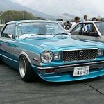 Popular Bosozoku cars: Toyota Mark II X3/X4