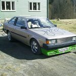 Carina Sightings: awful Toyota Carina Coupe TA60 in Norway