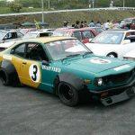 Rare Bosozoku cars: Mazda Savanna RX3