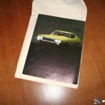 Genuine Dutch Datsun 240K GT catalogue