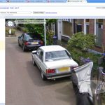 Carina sightings: my Carina on Google Streetview