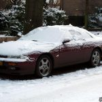 DOTS winter edition: Nissan 200SX S14 covered in snow!