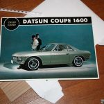 Oops I did it again: Datsun Coupe CSP311 catalogue