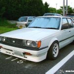 Carina Sightings: white Carina GT-R E-AA63 on white Volks