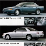 Nissan Skyline R32: all models together