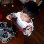 Hilarious: 2 year old mechanic