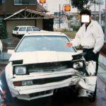 Familiy Album Treasures: crash your Celica XX in 1987