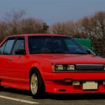 Carina Sightings: Red Carina GT-T TA63