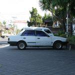 Bali: Ford Laser (Mazda Familia) on Longchamps