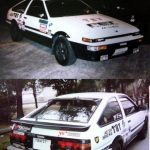 WTF: Nineties stickerbombed Trueno AE86