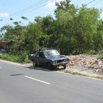 Bali: lonely Datsun 620 pickup