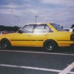 Carina Sightings: yellow Carina AA63 in 2000