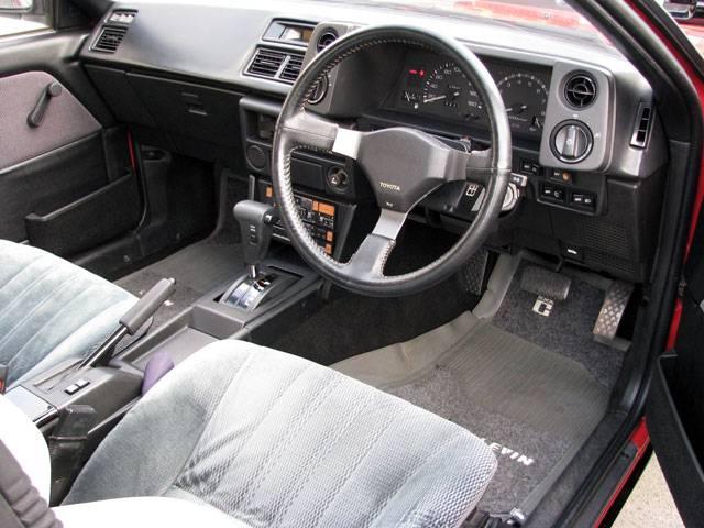 1987 Red Panda Toyota Corolla Levin AE86