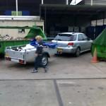 DOTS: Subaru Impreza WRX dumpster