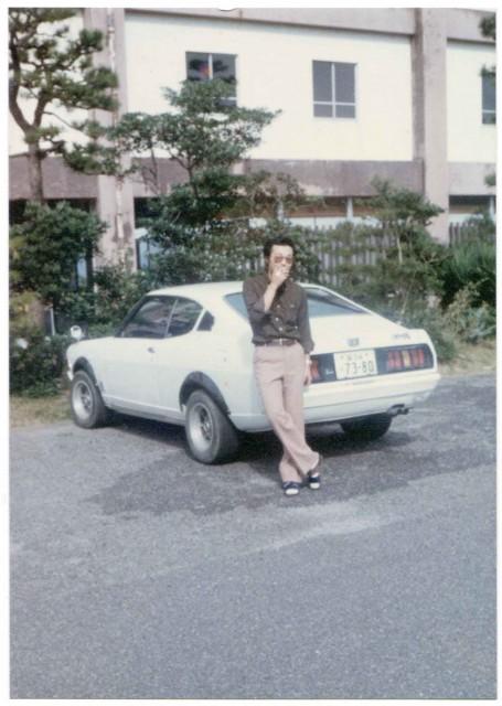 Flared Mitsubishi Galant GTO