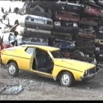 Friday video: junkyard car crashes