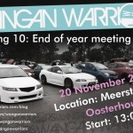 Attending the Wangan Warriors meeting