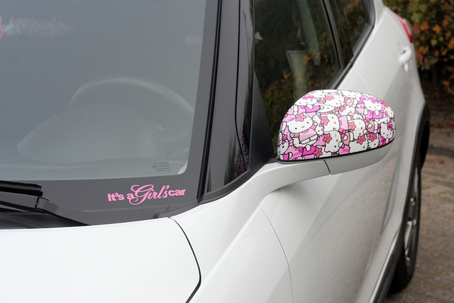 Latest sticker design for girls car with sticker design for girls car