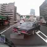 WTF: Careless driver wrecks a Toyota Century!