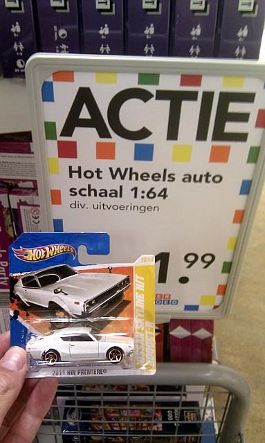 Hotwheels Skyline KPGC110 GT-R